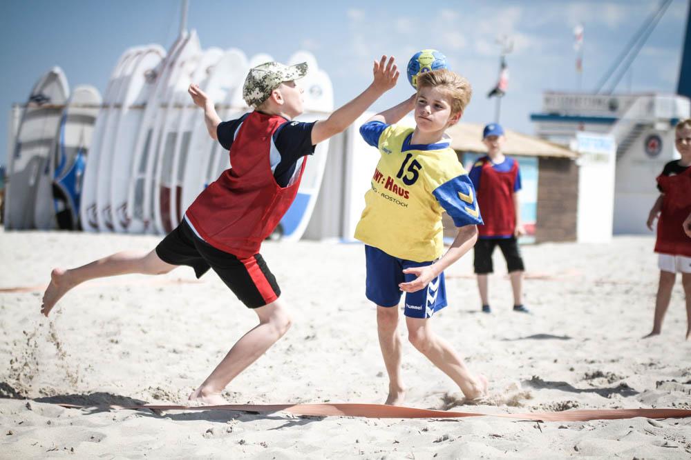 Beachhandball Warnemünde 2021